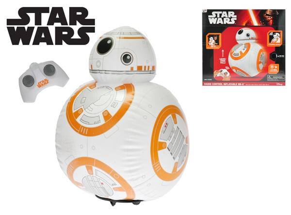 Star Wars R/C Jumbo BB8 nafukovací, 43cm plná funkce na baterie se zvukem