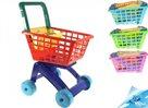 Nákupní vozík mix 3barev