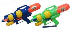 Vodní pistole 39cm s pumpou, mix barev