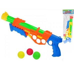 Pistole na kuličky/vodní pistole 2v1 48cm