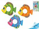 Kruh nafukovací ryba 81x76cm, 3-6 let, mix barev