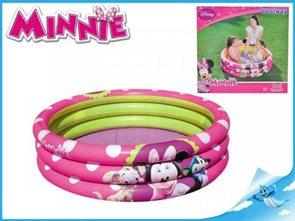 Bazén Minnie 102x25cm 3komory
