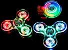 Fidget Spinner průhledný