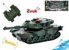 R/C tank, 16,5cm 1:32 27MHz na baterie 10 kanálů se světlem a zvukem