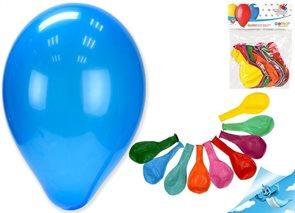 Nafukovací balónky 26 cm 10 barev, 10 ks v sáčku