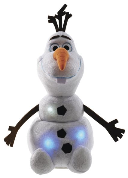Ledové království - mluvící a chodící plyšový Olaf