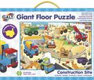 Velké podlahové puzzle – na staveništi (60×90cm)