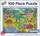 100 Puzzle v krabici - Dinosauři (37×50cm)