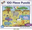 100 Puzzle v krabici - Safari (37×50cm)