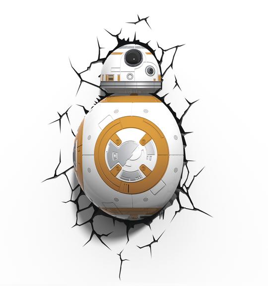 3D světlo EP7 - Star Wars BB-8
