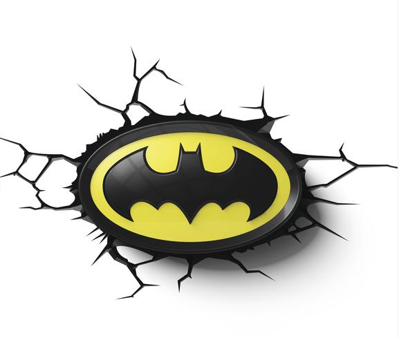 3D světlo Batman - Logo