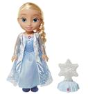Panenka Elsa a ledový krystal