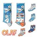 Dětské ponožky Ledové království Olaf - 3 páry