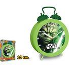 Hodiny Star Wars 23 cm - zelený