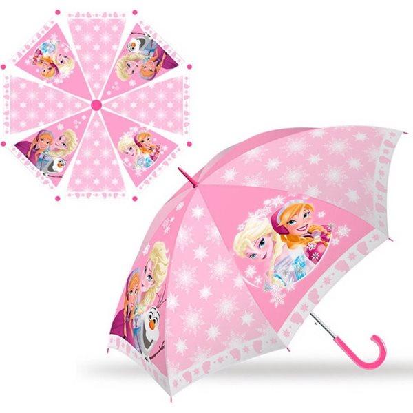 Dětský deštník Ledové království - růžový