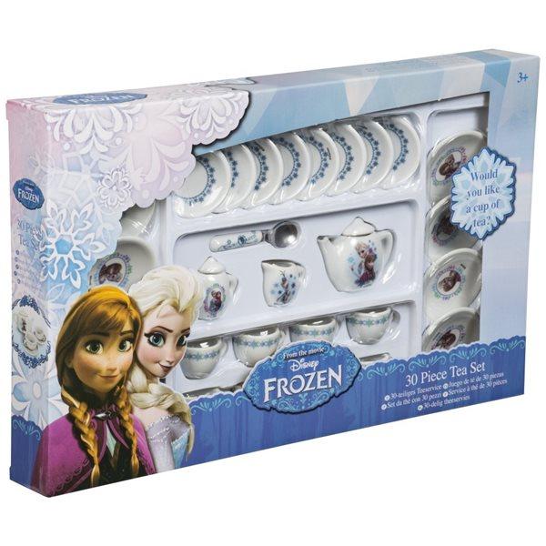 Porcelánový čajový set Ledové království - 30 ks