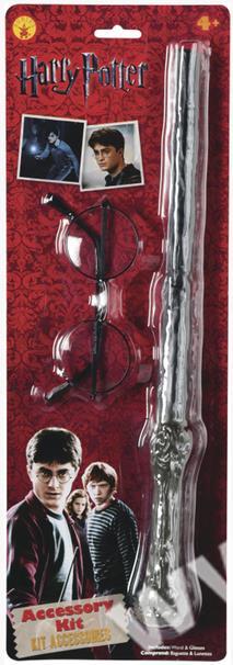 4c2f8ab83 Harry Potter - doplňky (brýle a hůlka) - SEVT.cz