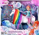 Winx - Tynix Bloom a jednorožec Elas