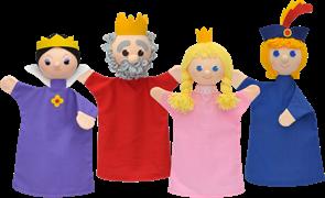 Maňásci - Královská rodina