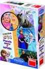 Ledové království - dětský metr a panoramic puzzle 150 dílků