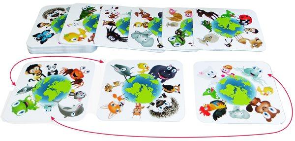 Kubíkovy hrátky se zvířátky - postřehová a paměťová hra