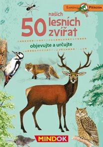 50 našich lesních zvířat - Expedice příroda