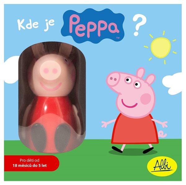 Kde je Peppa ? dětská hra