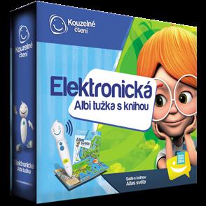 Elektronická Albi tužka + Atlas světa