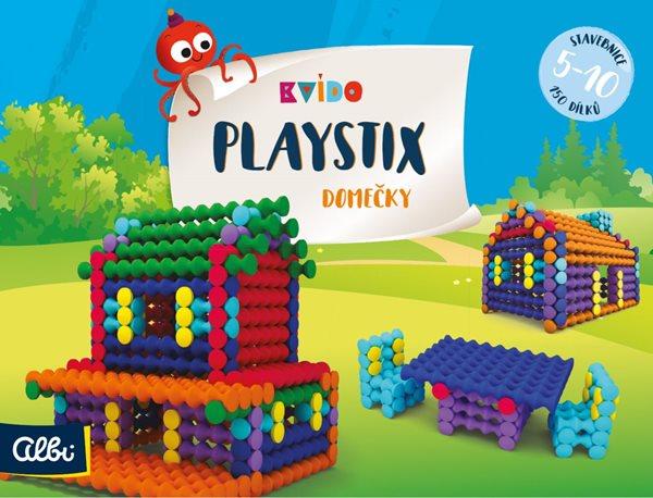 Kvído - Stavebnice Playstix - domečky