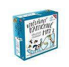 Vzdělávací kartičkové hry 2, soubor 4 her (240 karet)