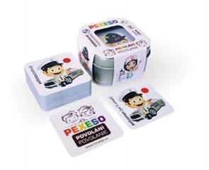 Pexeso povolání voděodolné 64 karet v plechové krabičce