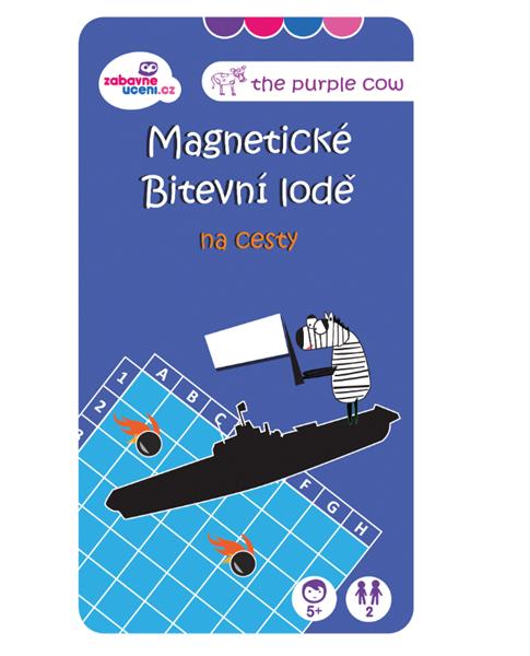 Magnetická hra - Bitevní lodě