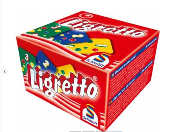 Ligretto / červené/ - zábavná hra