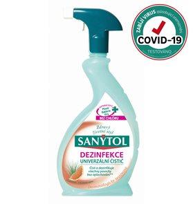 Sanytol univerzální čistič ve spreji 500 ml - grep
