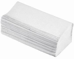 Z-Z ručníky 2 vrstvé - bílé ( 150 ks)