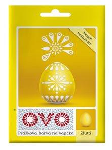 OVO prášková barva na vajíčka 5g - žlutá