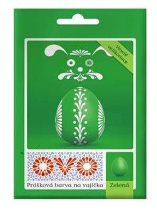 OVO prášková barva na vajíčka 5g - zelená