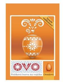 OVO prášková barva na vajíčka 5g  - oranžová