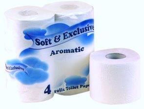 SOFT&EXCLUSIVE Toaletní papír 2VR  4×21m EASY bílý