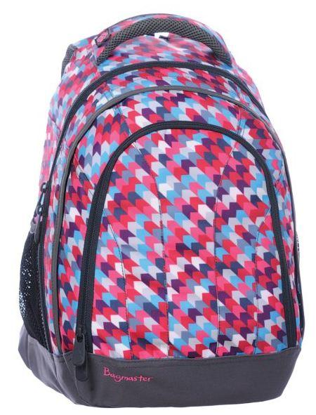 Studentský batoh - LILY 0115 B - Růžová