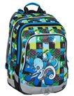 Školní batoh Bagmaster - ALFA 7 C BLUE/GREEN