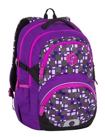 Školní batoh Bagmaster - THEORY 7 C VIOLET/PINK, Doprava zdarma