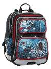 Školní batoh Bagmaster - GALAXY 8 B BLACK/BLUE/RED