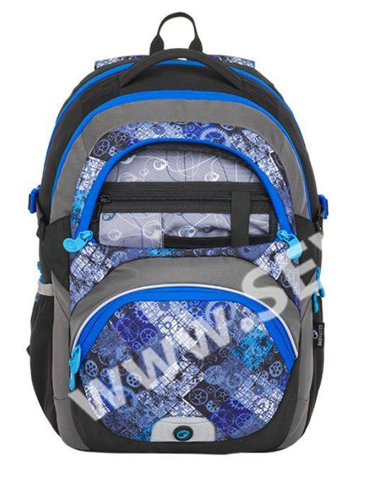 Školní batoh Bagmaster - THEORY 8 D BLACK BLUE GRAY - SEVT.cz e993ab4133