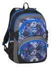 Školní batoh Bagmaster - THEORY 8 D BLACK/BLUE/GRAY