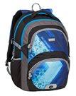 Školní batoh Bagmaster - THEORY 9 D BLUE/BLACK/GRAY