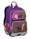 Školní batoh Bagmaster - GALAXY 9 B BLUE/BROWN/PINK