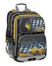 Školní batoh Bagmaster - GALAXY 9 D BLACK/YELLOW