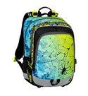 Školní batoh Bagmaster - ALFA 20 C BLUE/GREEN/YELLOW/BLACK