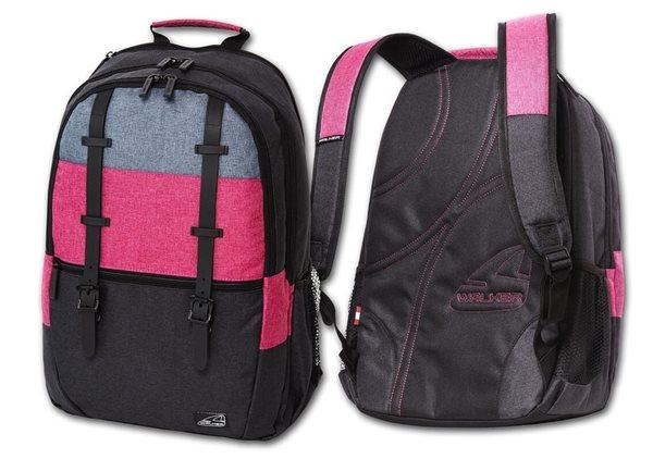 Studentský batoh Walker - Classic Pink